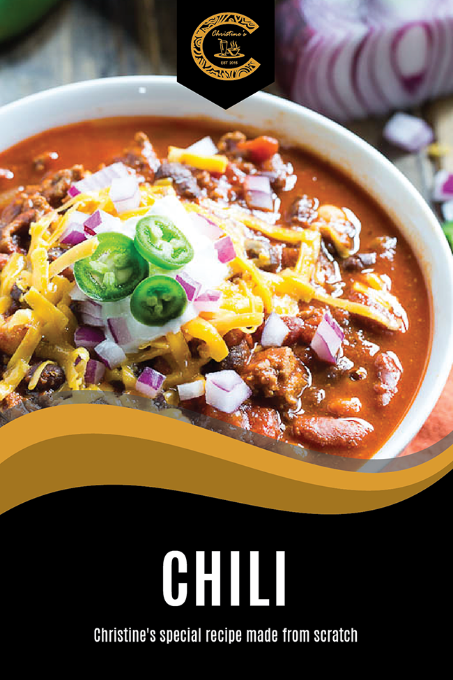 Filipino Food - Christine's Homemade Chili Soup